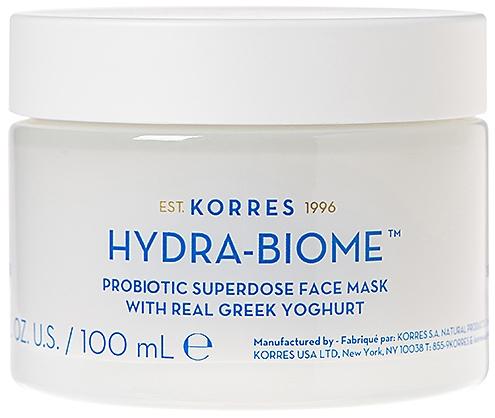 Maska do twarzy z jogurtem greckim - Korres Greek Yoghurt Hydra-Biome Probiotic Superdose Face Mask — фото N1