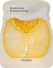 Kup Rozjaśniająca maska do twarzy na tkaninie z ekstraktem z cytrusów - Frudia Citrus Brightening Bursting Energy Mask