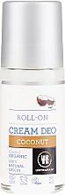 Kup Organiczny kremowy dezodorant w kulce Kokos - Urtekram Coconut Cream Deodorant Roll-On