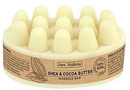 Kup Kostka do masażu ciała Masło shea i kakaowe - Stara Mydlarnia Body Mania Shea & Cocoa Butter Massage Bar