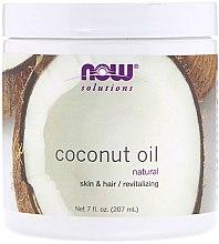 Kup Naturalny olej kokosowy na zdrową skórę i włosy - Now Foods Solution Coconut Oil