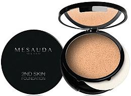 Kup Kremowo-pudrowy podkład do twarzy w kompakcie - Mesauda Milano 2ND Skin Foundation
