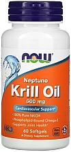 Kup Olej z kryla antarktycznego, 500 mg - Now Foods Neptune Krill Oil Softgels