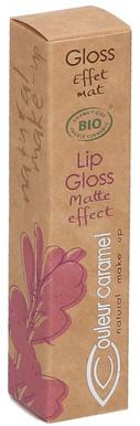 Matowy błyszczyk do ust - Couleur Caramel Matte Effect Lip Gloss — фото N2