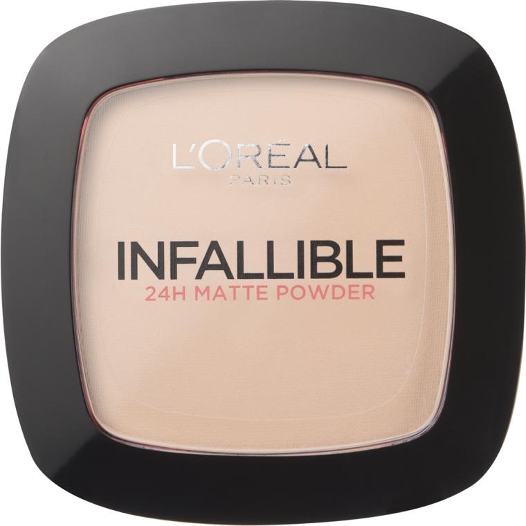 Długotrwały podkład w pudrze - L'Oreal Paris Infallible 24h Powder Foundation