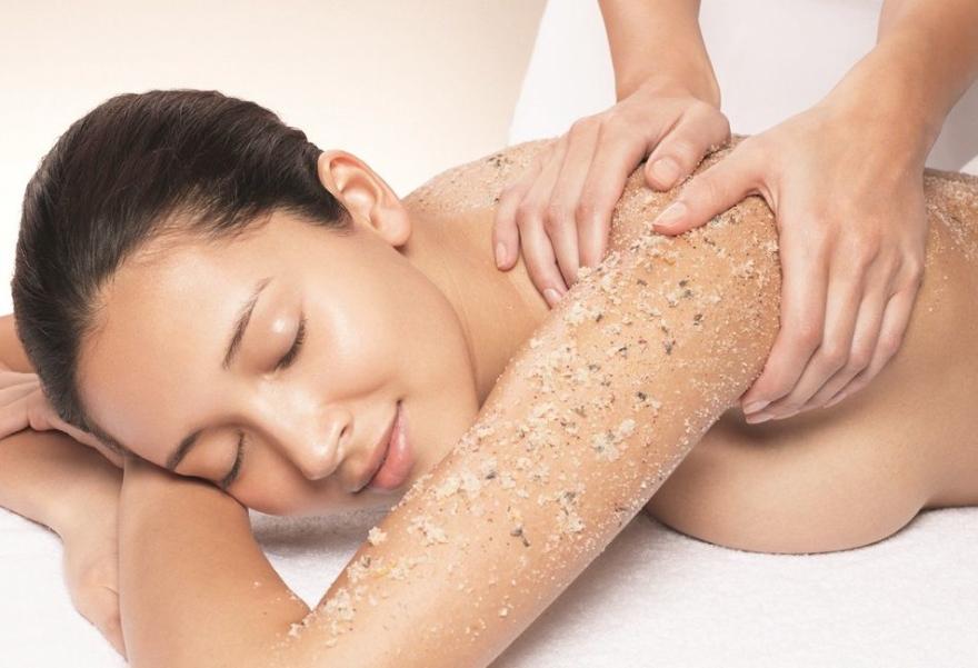 Scrub do ciała Atlantyckie wodorosty - Organic Shop Body Scrub Organic Algae & Sea Salt — фото N4