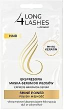 Kup Ekspresowa maska-serum do włosów Połysk i miękkość - Long4Lashes Hair Shine Power