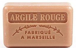 Kup Marsylskie mydło w kostce Glinka czerwona - Foufour Savonnette Marseillaise Argile Rouge