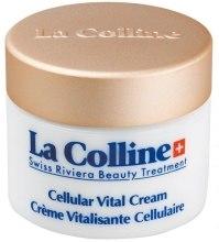 Kup Żel pod oczy zapobiegający powstawaniu zmarszczek mimicznych - La Colline Cellular Vital Cream