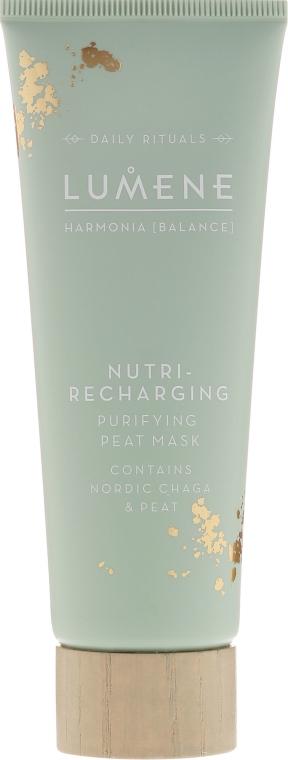 Regenerująca maseczka oczyszczająca na bazie torfu - Lumene Harmonia [Balance] Nutri-Recharging Purifying Peat Mask — фото N2