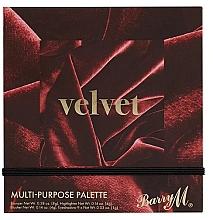 Kup Paleta do makijażu - Barry M Velvet Multi-Purpose Palette