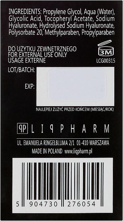 Serum wygładzające na noc Peeling glikolowy - Liqpharm — фото N3