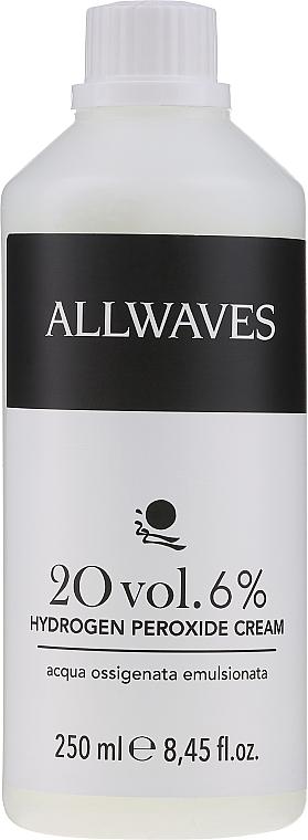 Emulsja utleniająca 6% - Allwaves Cream Hydrogen Peroxide 6%