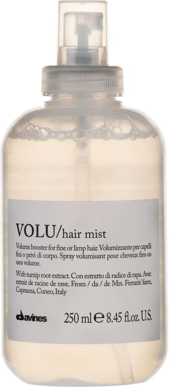 Nawilżająca mgiełka dodająca włosom objętości - Davines Volu Volume Booster Hair Mist — фото N1