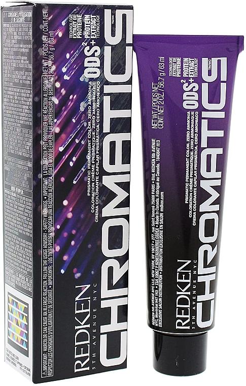 PRZECENA! Farba do włosów bez amoniaku - Redken Chromatics Prismatic Permanent Color * — фото N1