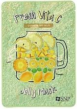 Kup Maseczka w płachcie do twarzy z witaminą C - SNP Fresh Vita C Jelly Mask