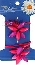 Kup Gumki do włosów z kwiatem, 21480 - Top Choice