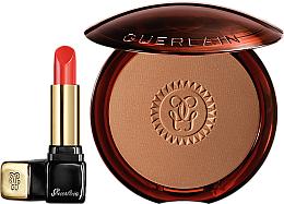 Kup Zestaw - Guerlain (f/powder/10g + lipstick/3.5g)