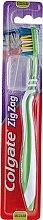 Kup Szczoteczka do zębów ZigZag (średnia twardość, zielona) - Colgate Zig Zag Plus Medium Toothbrush