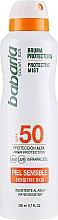 Kup Przeciwsłoneczny krem do ciała w sprayu SPF 50 - Babaria Protective Mist For Sensitive Skin Spf50