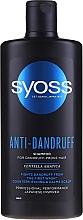 Kup Szampon do włosów ze skłonnością do łupieżu - Syoss Anti-Dandruff Centella Asiatica Shampoo