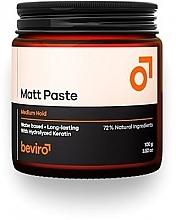 Kup Pasta do włosów o średnim utrwaleniu - Beviro Matt Paste Medium Hold