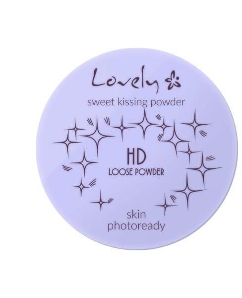 Sypki puder transparentny - Lovely HD Loose Powder