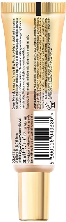 Matujący podkład do twarzy - AA Dream Minerals Silky Matt — фото N2