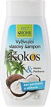 Kup Odżywczy szampon do włosów z kokosem - Bione Cosmetics Coconut Nourishing Shampoo