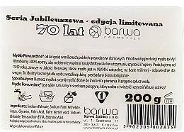 Mydło powszechne w kostce dla kobiet - Barwa Seria jubileuszowa — фото N2