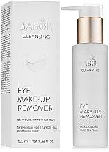 Kup Płyn do demakijażu oczu - Babor Cleansing Eye Make up Remover