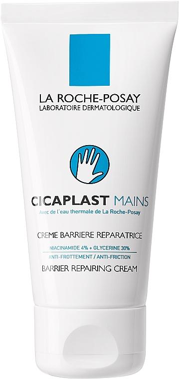 Regenerujący krem do rąk odbudowujący barierę ochronną skóry - La Roche-Posay Cicaplast Mains