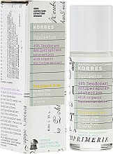 Kup Antyperspirant z ekstraktem ze skrzypu polnego do skóry wrażliwej - Korres Equisetum 48h Deodorant