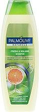 Kup Odświeżający szampon nadający włosom objętość Ekstrakty cytrusowe i kompleks witamin - Palmolive Naturals Fresh & Volume Shampoo