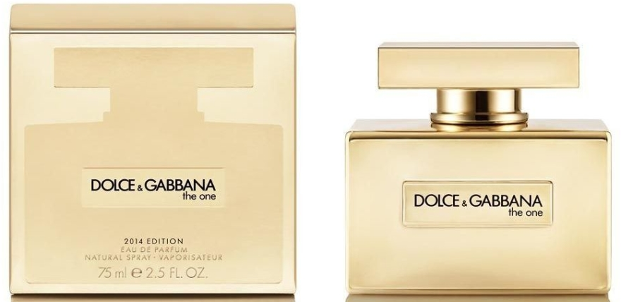Dolce & Gabbana The One Gold Limited Edition - Woda perfumowana