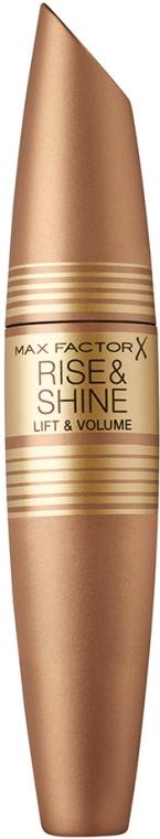 Tusz do rzęs - Max Factor Rise & Shine Lift & Volume Mascara