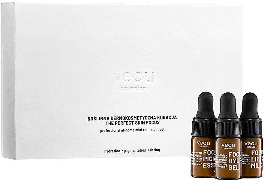 Zestaw - Veoli Botanica The Perfect Skin Focus (f/ser 3 x 3 ml)  — фото N1