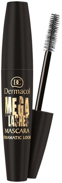 Tusz do rzęs - Dermacol Mega Lashes Dramatic Look Mascara — фото N1