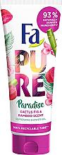 Kup Odświeżający żel pod prysznic Kaktus i bambus - Fa Pure Paradise Shower Gel Cactus & Bamboo