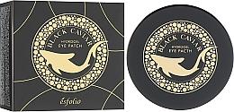 Kup Hydrożelowe płatki pod oczy z czarnym kawiorem - Esfolio Black Caviar Hydrogel Eye Patch