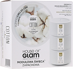 Kup Świeca zapachowa - House of Glam Calmig Clean Cotton Candle