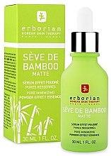 Kup Serum do twarzy silnie nawilżające, Woda termalna - Erborian Seve de Bamboo Matte Serum