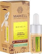 Kup Multiserum do twarzy z ekstraktem ze śluzu ślimaka - Markell Cosmetics Bio-Helix Facial Multi-Emulsion With Snail Mucin