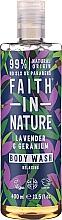 Kup Żel pod prysznic Lawenda i geranium - Faith in Nature Lavender & Geranium Body Wash
