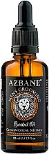 Kup Olejek do brody Cedr i gałka muszkatołowa - Azbane Bean Oil With Cedarwood And Nutmeg Oil