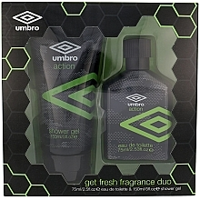 Kup Umbro Action - Zestaw (edt 75 ml + sh/gel 150 ml)