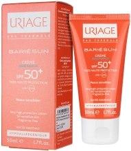 Kup Bezzapachowy ochronny krem do opalania SPF 50+ - Uriage Bariésun Very High Protection Cream For Sensitive Skin