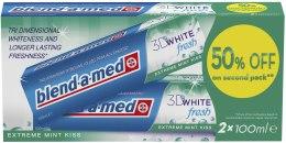 Kup Zestaw past do zębów - Blend-a-med 3D White Fresh Extreme Mint Kiss