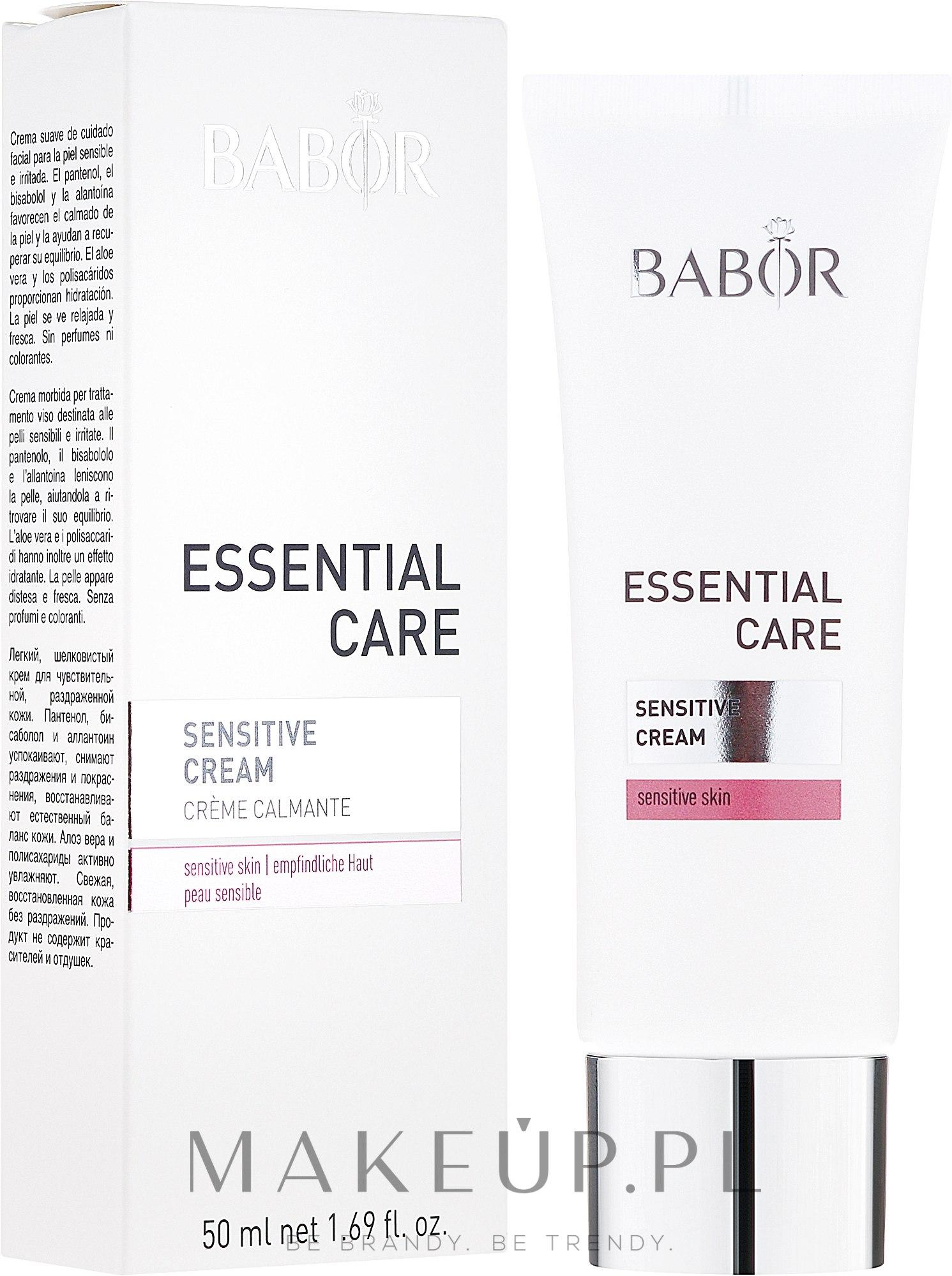 Krem do skóry wrażliwej - Babor Essential Care Sensitive Cream — фото 50 ml
