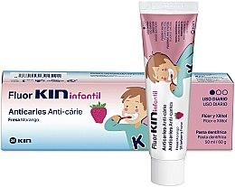 Kup Pasta do zębów dla dzieci - Kin Fluorkin Infantil Strawberry Anticaries Toothpaste For Children